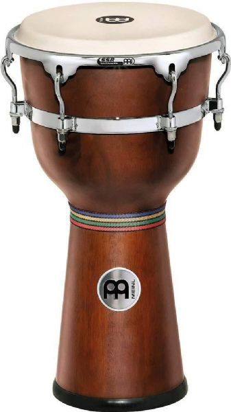Meinl Percussion 12 inch Floatune Series Wood Djembe - African Brown - DJW3AB-M